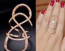 Double Infinity Ring Thin Micro Pave Cubic Zirconia Ring Hollow Ring Geometric Ring Stacking Ring Diamond Fancy Party Everyday, AR0044A