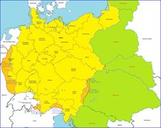 As a contrast to my previous thread of an alternative Versailles where Germany eventually won WWI but acted in a smart way and make some concessions to the. Carinthia, Total War, South Tyrol, Alternate History, Historical Maps, Continents, Germany, Geography, Europe