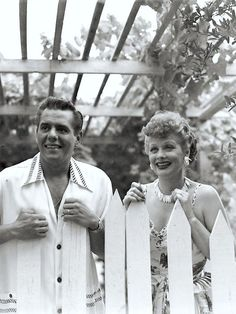 Desi Arnaz & Lucille Ball ~ In my world they stayed married forever :)