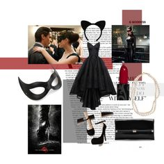 catwoman by arlette-00-98 on Polyvore featuring mode, HUISHAN ZHANG, Diane Von Furstenberg, STELLA McCARTNEY and diycostume