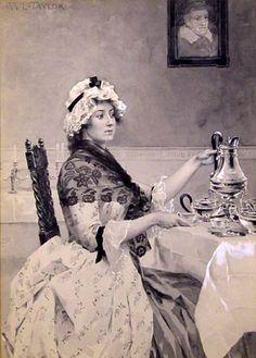 High tea ansichtkaart   High tea organiseren? Tips: http://www.jouwwoonidee.nl/high-tea-organiseren-tips/
