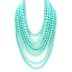 Love turquoise beads