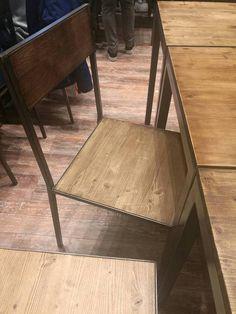 Guarda questo articolo nel mio negozio Etsy https://www.etsy.com/it/listing/526696841/sedia-sedie-ferro-legno-design-moderno