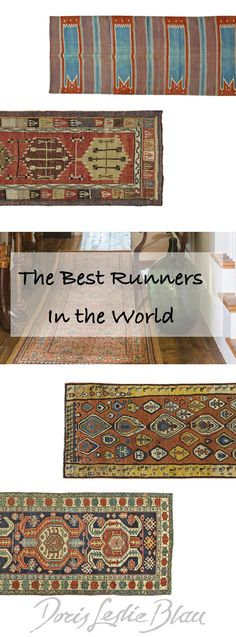 Doris Leslie Blau offers antique oriental runners and vintage runners from around the world.