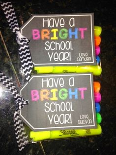 New teacher gifts over back to school gift organizing and homework ideas its all retirement from . new teacher gifts New Teacher Gifts, Teacher Treats, Staff Gifts, School Treats, Teacher Appreciation Week, New Teachers, Student Gifts, Sharpie Teacher Gift, Daycare Gifts