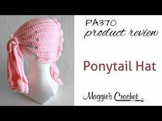 Ponytail Hat Crochet Pattern – Maggie's Crochet
