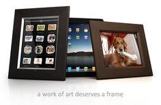 iPad Frame Dock - iPad Wall Mount and iPad Dock