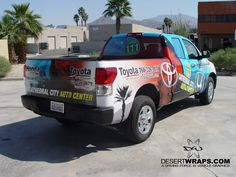 High quality and high resolution vinyl truck wrap for Honda of the Desert. Contact us DesertWraps.com 760-935-3600  #TruckWrap #Toyota #Tundra #CathedralCity #PalmDesert