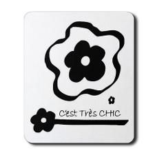 Cest Très CHIC Mousepad