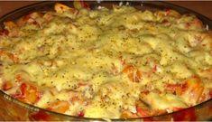 Kuhinja i ideje: Zapečeni pizza makaroni Pizza Recipes, Potato Recipes, Chicken Recipes, Cooking Recipes, Dessert Recipes, Bosnian Recipes, Croatian Recipes, Croatian Cuisine, Pizza Bites