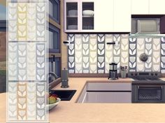 The Sims 4 : Odey92's Evie Wallpaper @ The Sims Resource