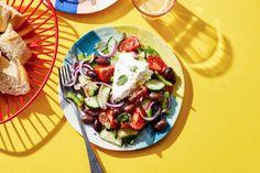 Recepten zoeken | Allerhande Caprese Salad, Cobb Salad, Bbq, Summer Recipes, Tacos, Dinner Recipes, Healthy Recipes, Healthy Food, Keto