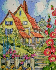 StoryBook Cottage...by cottagelover