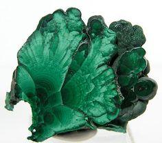 Polished Green Malachite Slice