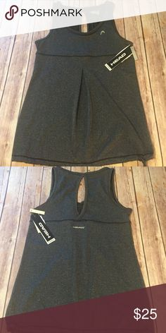 HEAD Athletic Top HEAD Athletic Top. Dri-Motion. New with tags. Size small. HEAD Tops