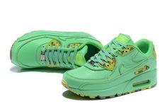 release date c6553 eec1c 2015 Nouveau Nike Air Max Femmes Ultra 90 DéContractée Chaussures QS Vert  813150 103 TAILLE ERUO 36-40