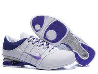 chaussures nike shox r2 femme (blanc/pourpre) pas cher en ligne.