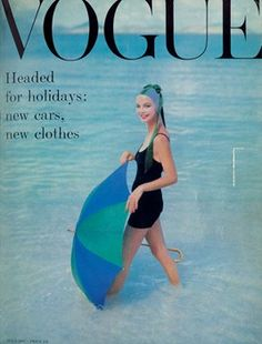 uk vogue cover 1957 - Google Search