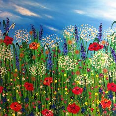 Nicky Chubb floral painting