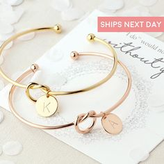 SET OF 2 to 8 Bulk Discount - Personalized Initial Knot Bracelet Monogram Bangle Bridesmaid Proposal Gift Will You Be My Bridesmaid Box ∙ ∙ ∙ ∙ ∙ ∙ ∙ ∙ ∙ ∙ ∙ ∙ ∙ ∙ ∙ ∙ ∙ ∙ ∙ ∙ ∙ ∙ ∙ ∙ ∙ ∙ ∙ ∙ ∙ ∙ ∙ ∙ ∙ ∙ ∙ ∙ ∙ ∙ A true go-to, thoughtful gift, perfect for your bridesmaids and maid of