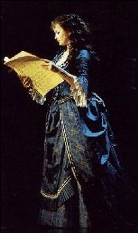 Sarah Brightman as Christine Daae. The moment I fell in love with her!