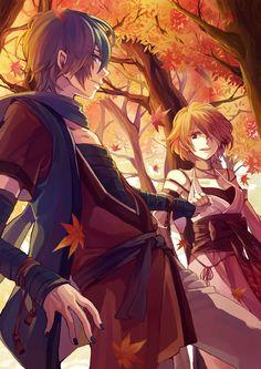♥ Kaito y Meiko/Vocaloid