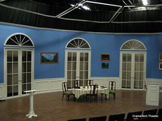 Arcadia by Tom Stoppard; scenic design, DramaTech Theater