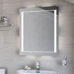 If you're looking to add the wow factor to your bathroom design, a glamorous illuminated mirror is just the job! With an innovative fluorescent design, the Cygnus Fluorescent Illuminated Mirror will help boost light even in the gloomiest space. Ideal for bathrooms where natural light is at premium. This rectangular illuminated mirror contains 2 x 14W T4 tubes with on/off switch and is mains powered.