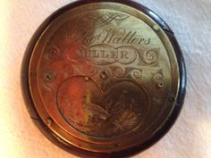 Antique Hunter: Heart Snuff Box for Thomas Watters, Miller