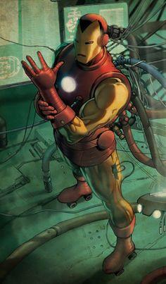 Iron Man #Marvel #comic Pin and follow @Pyra2elcapo