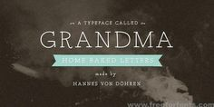 Grandma Font Free Download | Free For Fonts