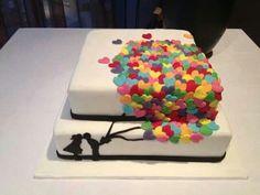 Super sweet cake decoration idea