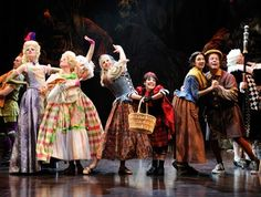Great Lakes Theater Festival's resident acting company conjures a classic collection of fairy tale characters in the enchanting Stephen Sond...