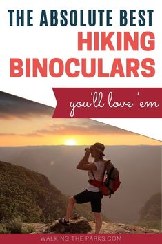 The perfect binoculars for hiking should be compact, lightweight and give you a great view of that bear cub playing on the next mountain! Right? Here's our guide to selecting the best compact binoculars for hiking with our top recommendations. #WalkingThePark #HikingBinoculars Hiking Gear Women, Best Hiking Gear, Best Hiking Boots, Hiking Tips, Backpacking Packing List, Ultralight Backpacking Gear, Hiking Supplies, Fun Outdoor Activities, Hiking Essentials