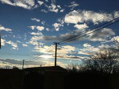 Nature sunset clouds ☁️ #slovakia #velkekapusany #nagykapos  Instagram: adamkuvarga
