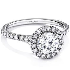 Diamond Halo #Engagement #Ring