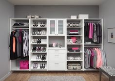 "make the end of your Room and Open walk ""up"" Closet!"