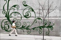 Zo maak je mos-graffiti - HLN.be