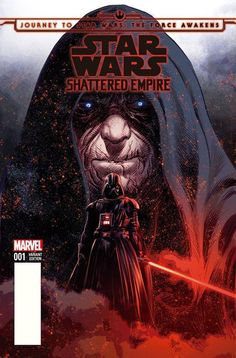 Star Wars: Shattered Empire #1 variant cover by Mike Deodato Jr., colours by Frank Martin *