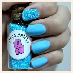 Poco Petite - Havyar Manikür Vitrinish'te #mavi #tırnak #süs