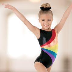 Dancewear Solutions has all the bold & bright combinations you need for gymnastics practice.