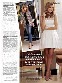 Especial estilo #primavera - #verano en @Revista Online ¡HOLA! La modelo #AlbaCarrillo presenta las últimas propuestas para ponerse en forma de cara al verano de la mano de la #gurú de la #belleza y la #estética #maribelyebenes #NatyAbascal #AnaAntic #JesusCordero #GabrielLlano