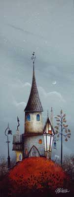 Gary Walton original 'Gothic Home'
