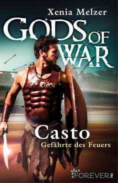 """Xenia Melzer: Casto - Gefährte des Feuers (@foreverebooks) """"Der Beginn eines großen Fantasy-Epos: Ein Halbgott zwischen Liebe und Krieg."""" #GayRomance #Liebe #Romantasy #Fantasy"""