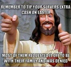 Make funny memes with meme maker. (Top Funny Memes - generate and share your own! jesus-says hey-i-just-met-you-nine-months-later-heres-your-baby-and-this-is-crazy Buddy Christ, Humor Cristiano, Funny Quotes, Funny Memes, Stupid Memes, Yolo Meme, Funny Videos, Siri Funny, Insulting Memes