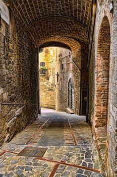 Todi,Umbria,Italia