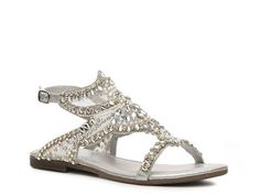 Coconuts Gabby Flat Sandal Bride Wedding Shop Women's Shoes - DSW for Kendall flower girl shoes @Kasey Walker