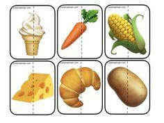 240 modele(fructe,legume,animale, mijloace de transport, natura etc. Food Crafts, Transportation, Puzzle, Stuffed Peppers, Blog, D1, Games, Greek Chorus, Puzzles