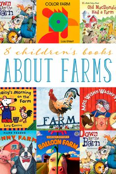 Does your child like farms and farm animals? Read farm books for preschoolers — a fantastic way to tie in with a trip to the farm or nursery songs.