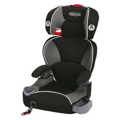 Graco Affix Youth Booster Car Seat - Sterling - http://babystrollers.everythingreviews.net/4010/graco-affix-youth-booster-car-seat-sterling.html